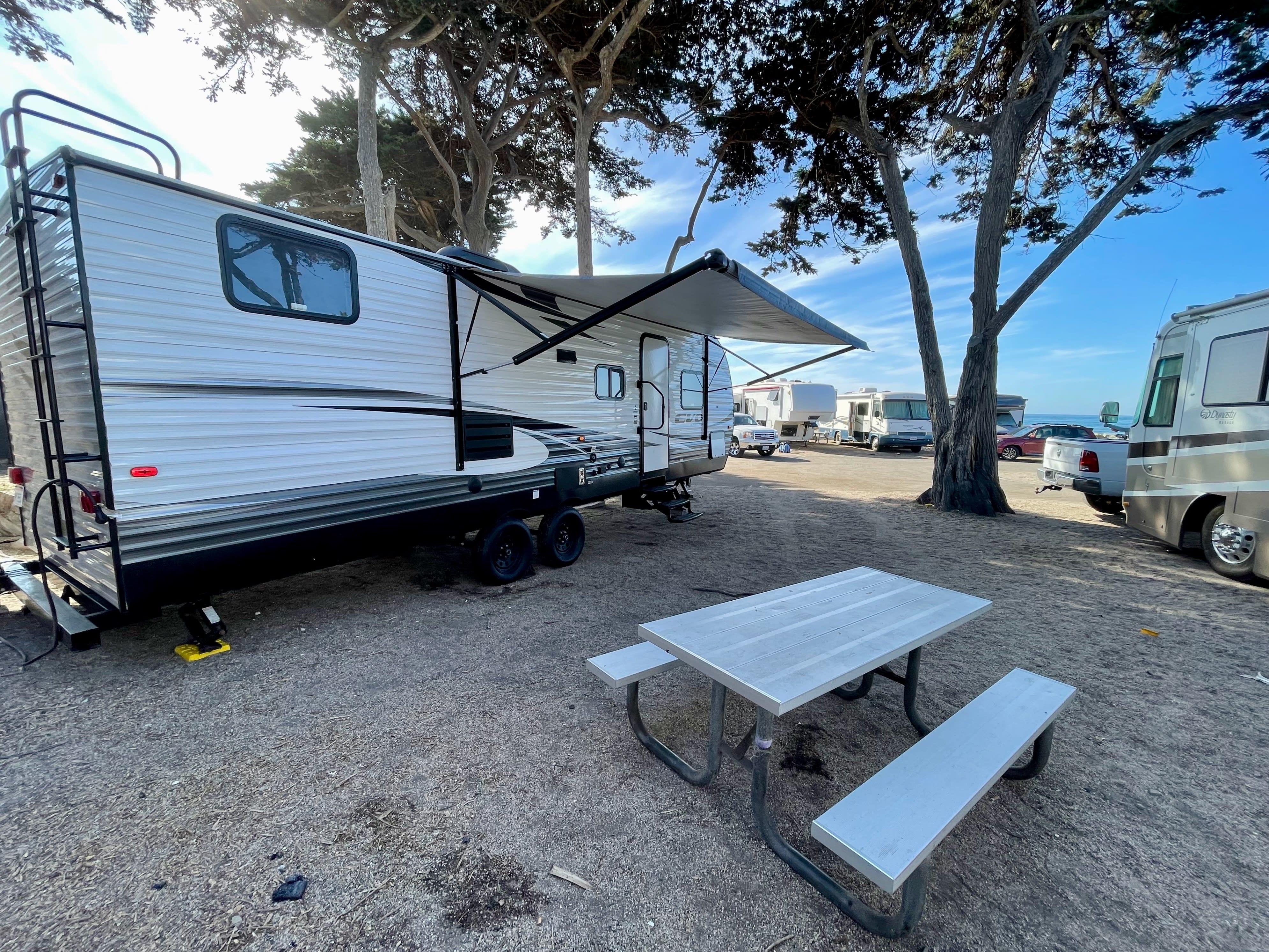 Faria Beach exterior. Forest River Evo T2550 2018