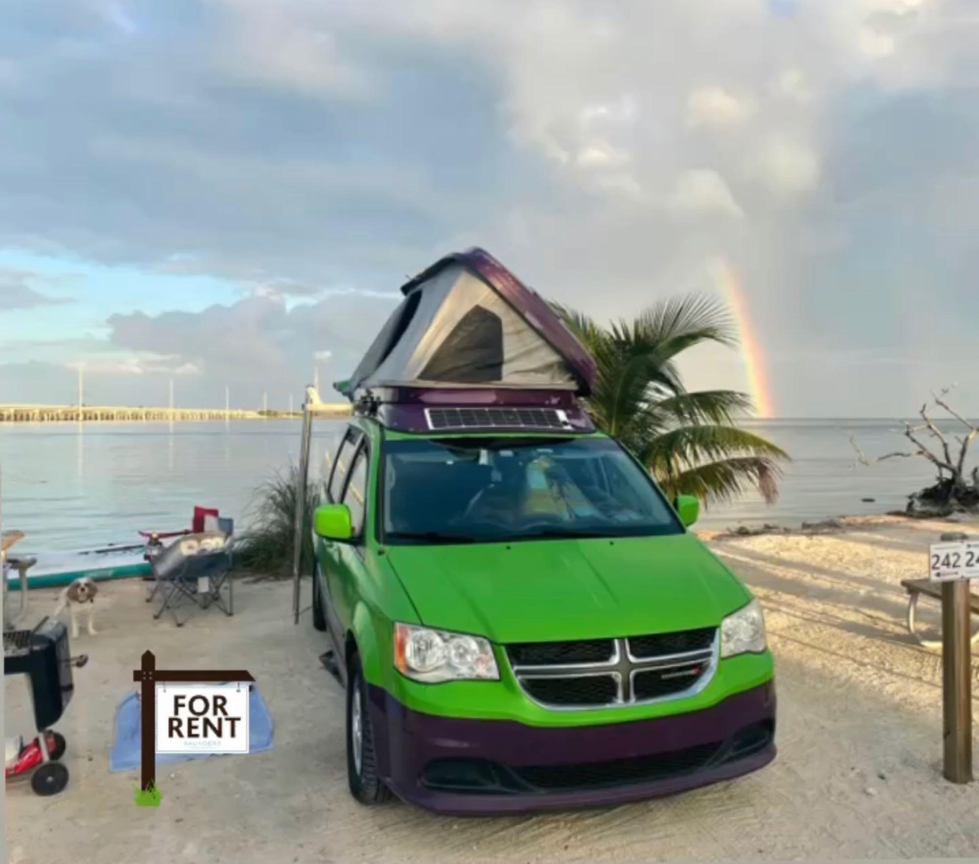 Chase the Rainbow. Dodge grand caravan 2012