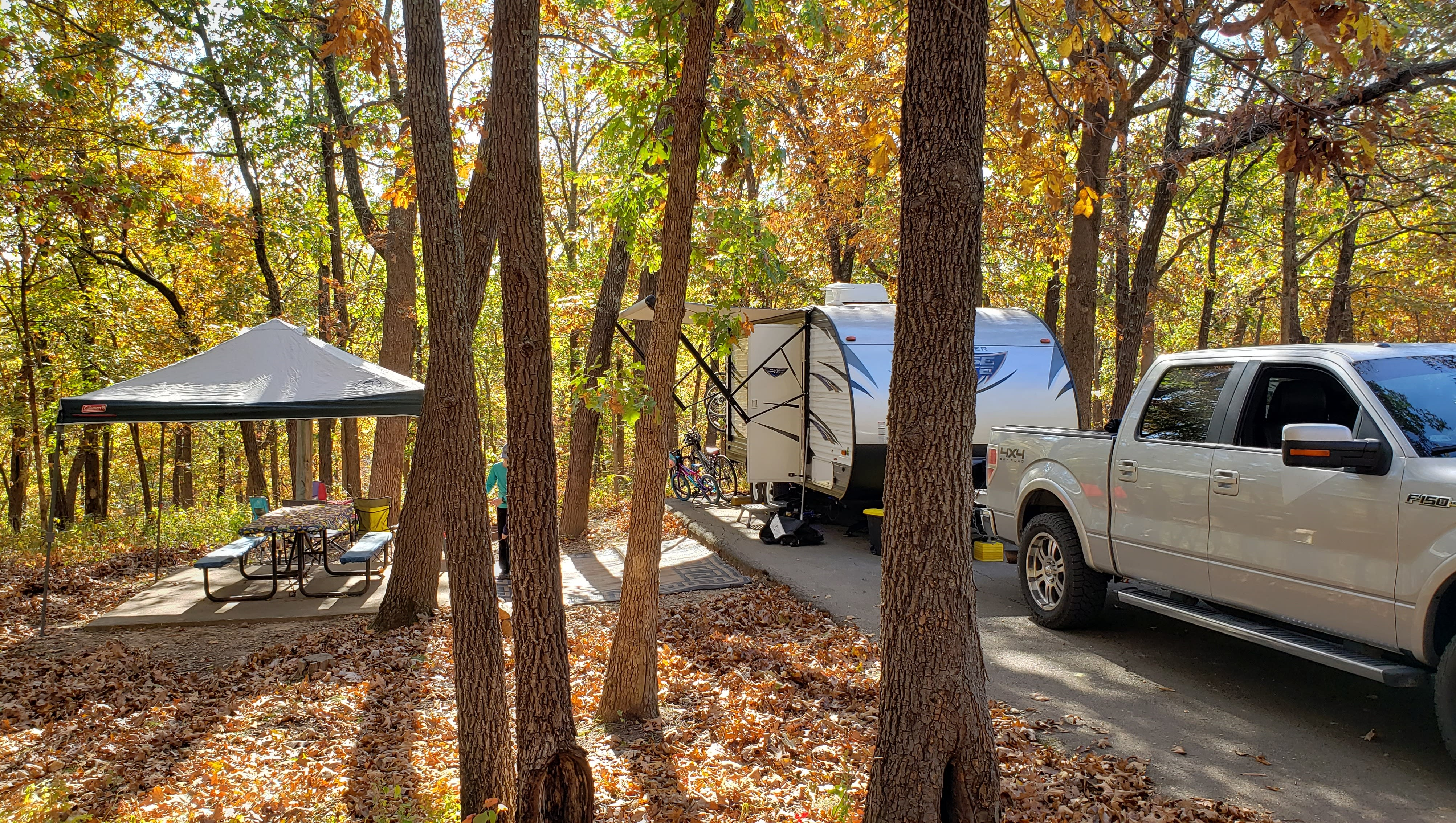 Camping at its finest. Forest River Salem Cruise Lite 2017