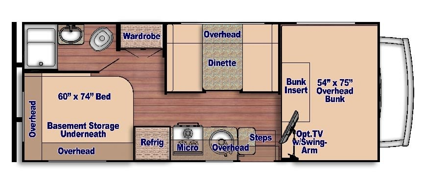 Perfect floorplan for the family!. Gulf Stream Conquest 2021