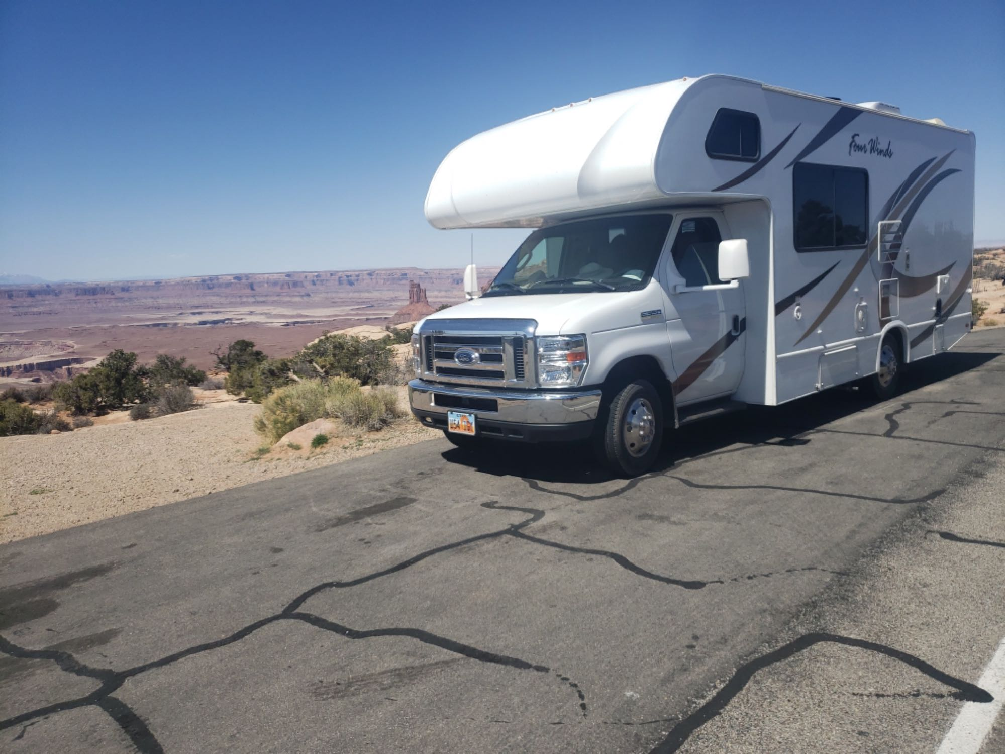 Southern Utah. Ford Fourwinds 2019