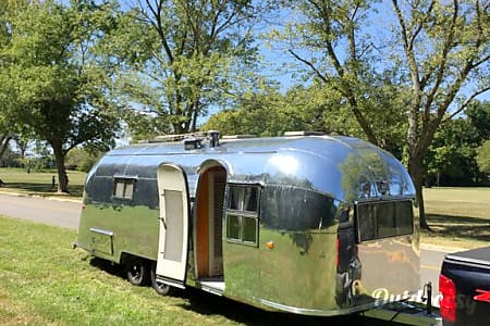 "1957 Airstream Overlander: ""Dimples""  Jemez Springs, NM"