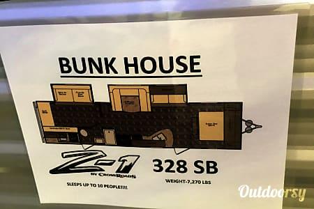 2015 Crossroads Z-1 328 SB BUNK HOUSE  Leander, TX