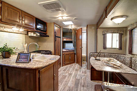 02016 Keystone Passport 2400BH Happy Camper RV Rental #3  Lake Worth, FL