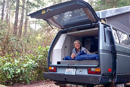0Peace Vans #3: Nisqually - 1987 Volkswagen Vanagon Full Camper (Manual Transmission!)  Seattle, WA