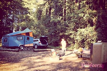 Tiny House Outdoor Fun | 2014 Cricket Trailer  Mountain View, CA