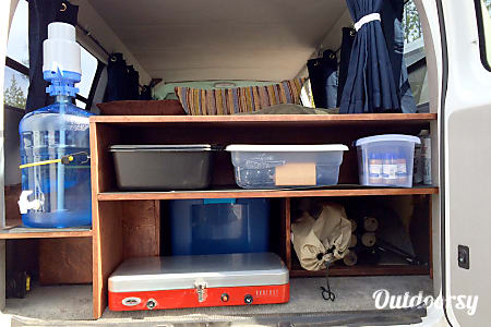 2007 Ford E150- 2 Person Fully Stocked Camper Van  Bend, OR