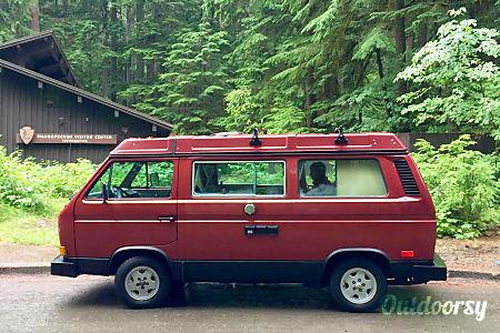 0Peace Vans #4: Ohanapecosh - 1987 Volkswagen Vanagon Full Camper  Seattle, WA