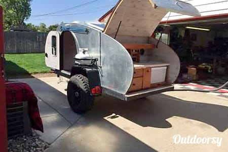 0Off-Road Tear Drop Trailer - The Bison  Durango, CO