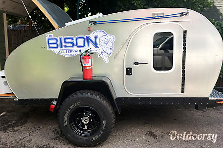 Off-Road Tear Drop Trailer - The Bison  Durango, CO