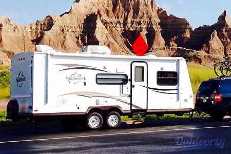 Fun Tenting in a Hard Shell  - Delivery availabe within 100m - 2014 Forest River Flagstaff Shamrock  Salem, WI