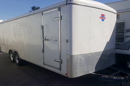 024' White Enclosed Trailer  Corona, CA