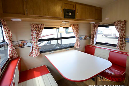 2017 Red Vintage Rv. Fun and Style of the 50's, with Modern Technology  St Petersburg, FL
