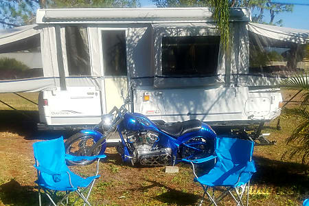 2006 Star Gazer Coleman Pop Up Trailer (Delivery, Set Up & Removal Available)  Treasure Island, FL
