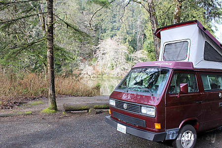 0Peace Vans #5: Pilchuck - 1990 VW Vanagon Full Camper  Seattle, WA
