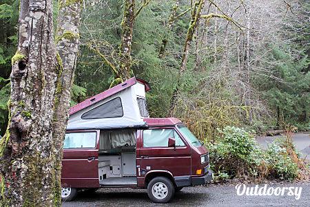 Peace Vans #5: Pilchuck - 1990 VW Vanagon Full Camper  Seattle, WA