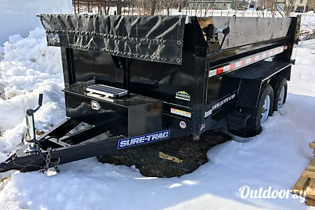 2015 Sure-Trac 6x10 7k Dump Trailer  Pine City, NY