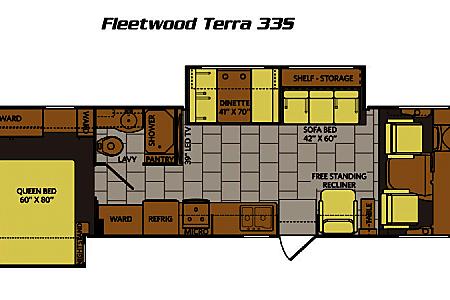 2015 Fleetwood Terra  Tampa, FL