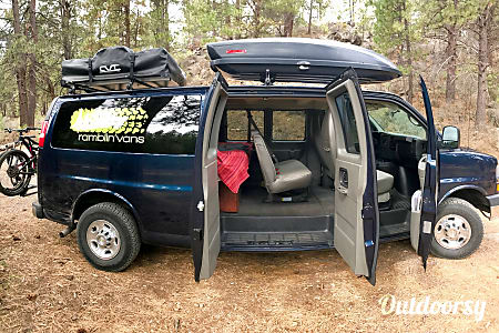 Chevy Express 5-Person Fully Stocked Campervan  Bend, OR