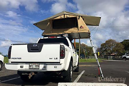 Nissan Frontier NISMO 4WD Camper  Hilo, Hawaii