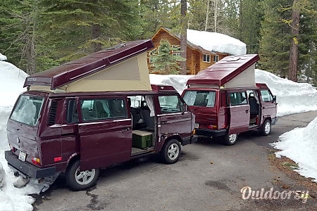 Whitney 1991 VW Vanagon Westfalia  Tahoe City, CA