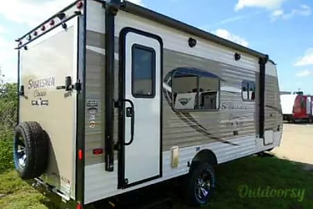 2018 K-Z Sportsman Classic, lightweight Toy hauler Travel Trailer  Indian Hills, CO