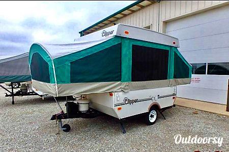 10' PopUp Tent Trailer Camper SuperLite - 900lbs  Oceanside, CA