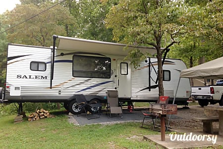 """Happy Camper"" 2013 Forest River Salem  Cleveland, TN"