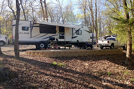 "0""Happy Camper"" 2013 Forest River Salem  Cleveland, TN"