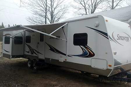 0Keystone Sprinter Wide Body - UP1  Eben, MI