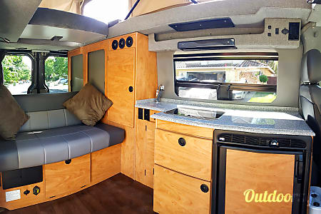 Custom Sportsmobile with Penthouse Top  San Diego, CA