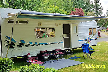 02002 Toy Hauler, Weekend Warrior Travel Trailer RV  Gig Harbor, WA