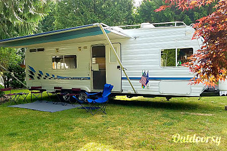 2002 Toy Hauler, Weekend Warrior Travel Trailer RV  Gig Harbor, WA