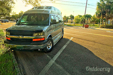 0Silver Sky - Your personal adventure van.  Saint Petersburg, FL