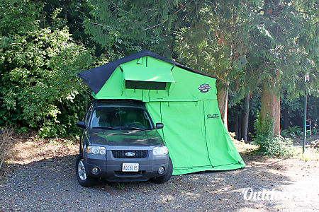02005 Ford Escape with CVT Summit Series Roof Top Tent  Bellingham, WA