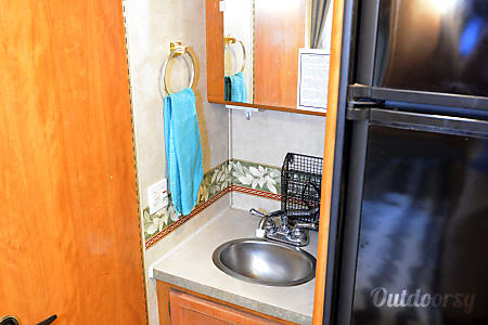 "2005 Fleetwood Tioga 23""...  which we call the ""Camper Car.""  Las Vegas, NV"