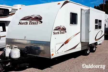 Rent North Trail 21FBS With Slide Out No Mileage Charge  Las Vegas, NV