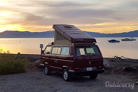 GEORGIA 1989 VW Vanagon Westfalia  Tahoe City, CA