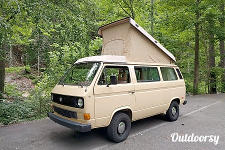 """PEACE"" 1985 Volkwagen Westfalia  Cleveland, TN"