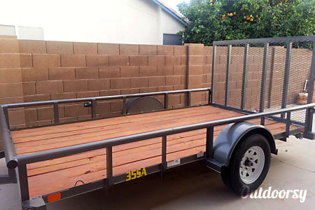 02015 Big Tex 6.5'x12' Utility Trailer  Gilbert, AZ