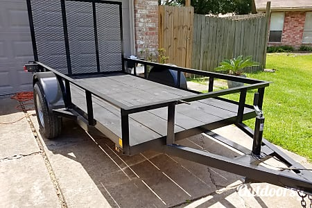 02017 10 ft Utility trailer with rails and fold down ramp  Sugar Land, TX