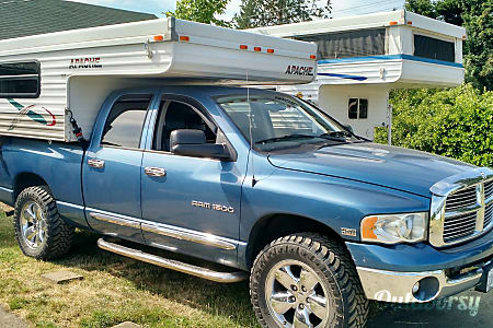"0Truck Camper ""Everglades"" Fully Outfitted, Unlimited miles+Solar!  Sheridan, OR"