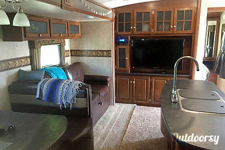 2015 Keystone Bullet Premier 5800lbs Half ton/large SUV towable  West Valley City, Utah