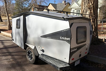 2016 TAXA Cricket Trek Rocky Mountain Edition.  Colorado Springs, CO