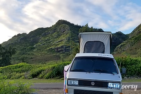 Solar Powered Waimea Wagon-1978 VW Westafalia Camper  Honolulu, Hawaii