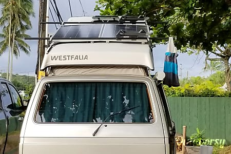 Solar Powered North Shore Waimea Wagon-1978 VW Westafalia Camper  Honolulu, Hawaii