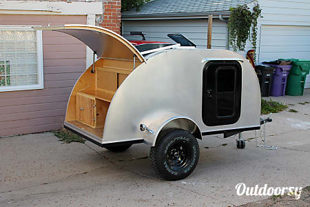 0Teardrop Trailer - Solar & Extra Long (for tall campers!)  Golden, Colorado