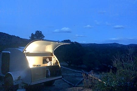 Teardrop Trailer - Solar & Extra Long (for tall campers!)  Golden, Colorado