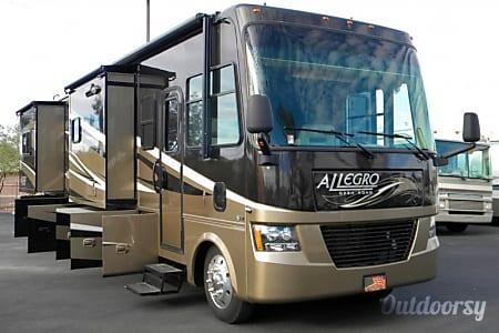 02011 Tiffin Allegro Open Road with a Super Easy Ride suspension  San Antonio, Texas
