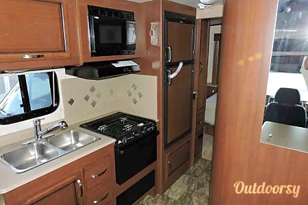 2013 Tioga Ranger Mercedes Sprinter with 2 Slideouts, including 1 private room with queen  Tahoe City, California